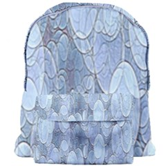 Bubbles Texture Blue Shades Giant Full Print Backpack