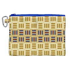 Textile Texture Fabric Material Canvas Cosmetic Bag (xl) by Celenk