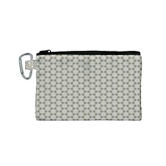 Background Website Pattern Soft Canvas Cosmetic Bag (small)