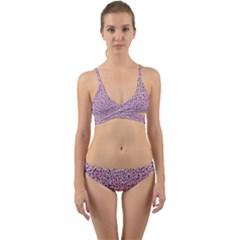 Texture Surface Backdrop Background Wrap Around Bikini Set