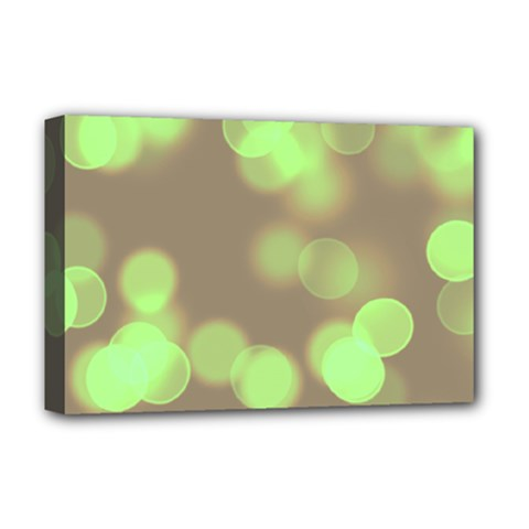 Soft Lights Bokeh 4c Deluxe Canvas 18  X 12   by MoreColorsinLife
