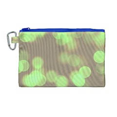 Soft Lights Bokeh 4c Canvas Cosmetic Bag (large)