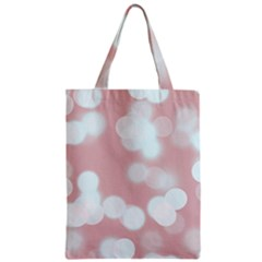Soft Lights Bokeh 5 Zipper Classic Tote Bag