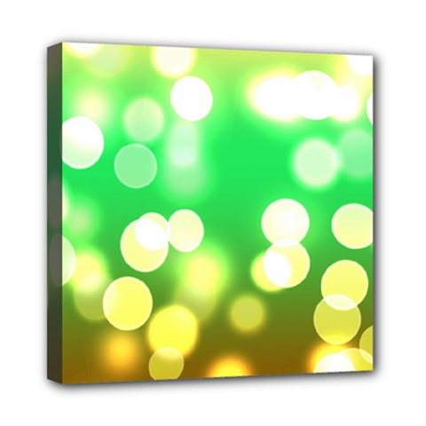 Soft Lights Bokeh 3 Mini Canvas 8  x 8