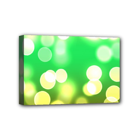 Soft Lights Bokeh 3 Mini Canvas 6  x 4