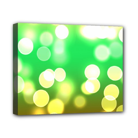 Soft Lights Bokeh 3 Canvas 10  x 8