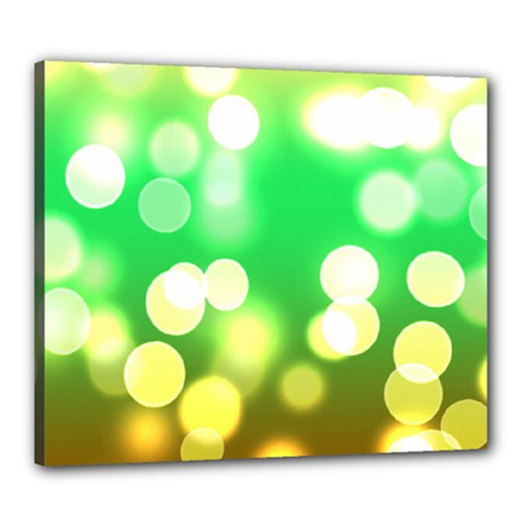 Soft Lights Bokeh 3 Canvas 24  x 20
