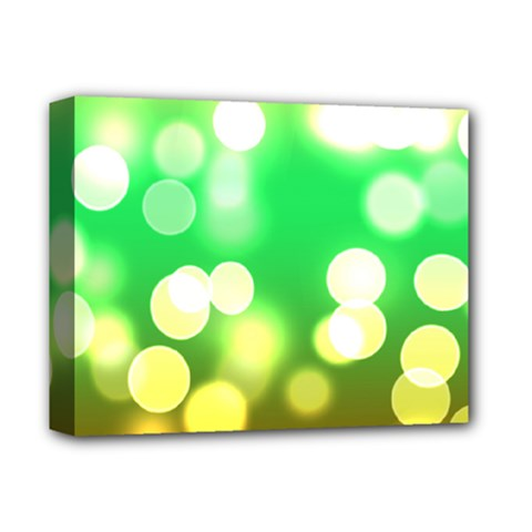 Soft Lights Bokeh 3 Deluxe Canvas 14  x 11