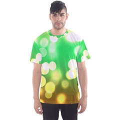 Soft Lights Bokeh 3 Men s Sports Mesh Tee