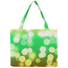 Soft Lights Bokeh 3 Mini Tote Bag