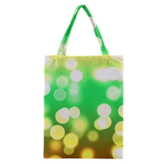 Soft Lights Bokeh 3 Classic Tote Bag