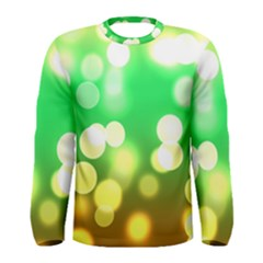 Soft Lights Bokeh 3 Men s Long Sleeve Tee