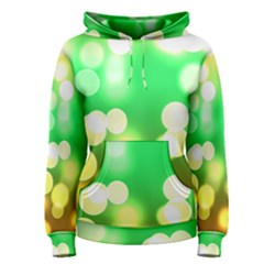 Soft Lights Bokeh 3 Women s Pullover Hoodie
