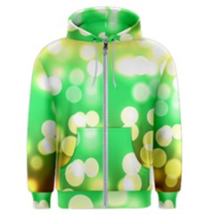 Soft Lights Bokeh 3 Men s Zipper Hoodie