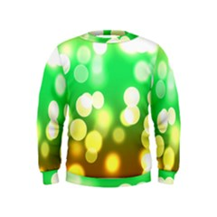 Soft Lights Bokeh 3 Kids  Sweatshirt
