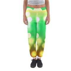 Soft Lights Bokeh 3 Women s Jogger Sweatpants