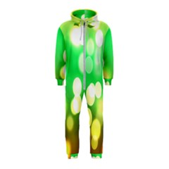 Soft Lights Bokeh 3 Hooded Jumpsuit (Kids)