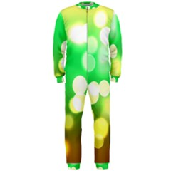Soft Lights Bokeh 3 OnePiece Jumpsuit (Men)