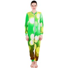 Soft Lights Bokeh 3 OnePiece Jumpsuit (Ladies)