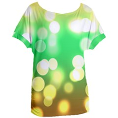 Soft Lights Bokeh 3 Women s Oversized Tee