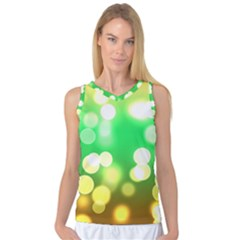 Soft Lights Bokeh 3 Women s Basketball Tank Top