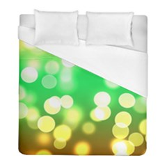 Soft Lights Bokeh 3 Duvet Cover (Full/ Double Size)