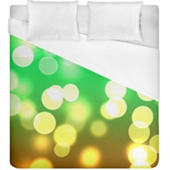 Soft Lights Bokeh 3 Duvet Cover (King Size)