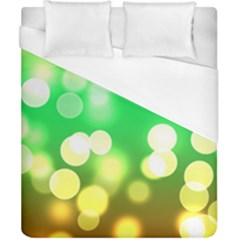 Soft Lights Bokeh 3 Duvet Cover (California King Size)