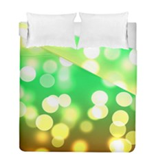 Soft Lights Bokeh 3 Duvet Cover Double Side (Full/ Double Size)