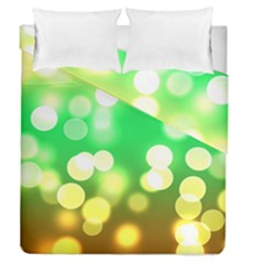 Soft Lights Bokeh 3 Duvet Cover Double Side (Queen Size)