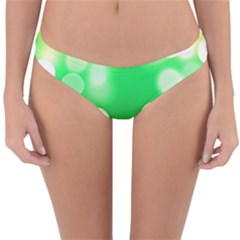 Soft Lights Bokeh 3 Reversible Hipster Bikini Bottoms