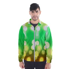 Soft Lights Bokeh 3 Wind Breaker (Men)