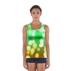 Soft Lights Bokeh 3 Sport Tank Top