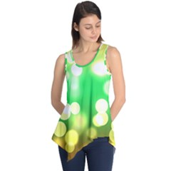 Soft Lights Bokeh 3 Sleeveless Tunic