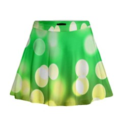 Soft Lights Bokeh 3 Mini Flare Skirt