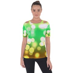 Soft Lights Bokeh 3 Short Sleeve Top