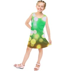 Soft Lights Bokeh 3 Kids  Tunic Dress