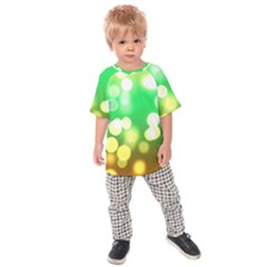 Soft Lights Bokeh 3 Kids Raglan Tee
