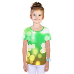 Soft Lights Bokeh 3 Kids  One Piece Tee