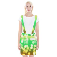 Soft Lights Bokeh 3 Braces Suspender Skirt