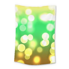 Soft Lights Bokeh 3 Small Tapestry