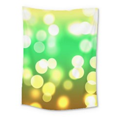 Soft Lights Bokeh 3 Medium Tapestry