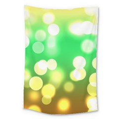 Soft Lights Bokeh 3 Large Tapestry