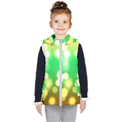Soft Lights Bokeh 3 Kid s Puffer Vest