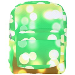 Soft Lights Bokeh 3 Full Print Backpack