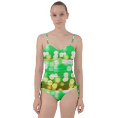 Soft Lights Bokeh 3 Sweetheart Tankini Set