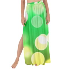 Soft Lights Bokeh 3 Maxi Chiffon Tie-Up Sarong