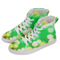 Soft Lights Bokeh 3 Men s Hi-Top Skate Sneakers