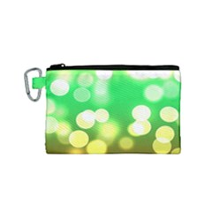 Soft Lights Bokeh 3 Canvas Cosmetic Bag (Small)