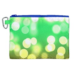 Soft Lights Bokeh 3 Canvas Cosmetic Bag (XL)